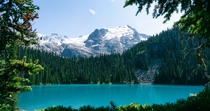 Three hour hike to see these glacier fed lakes totally worth it  in interior of British Columbia Canada Near Lillooet
