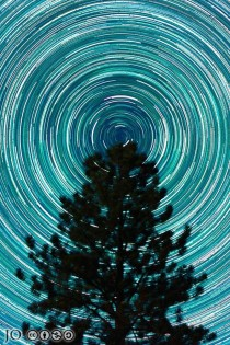 Three Hours of the Earths Rotation from Bryce Canyon National Park