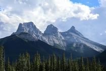 Three Sisters Banff Canada