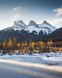 Three Sisters - Faith Charity and Hope - Alberta Canada