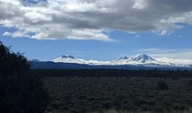 Three Sisters near Bend OR