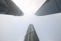 Three Unique Skyscrapers in one place Shanghai
