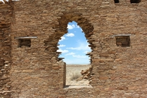 Through the Doorway - Chaco Canyon NM