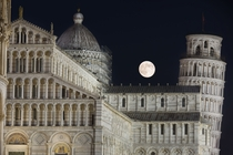 Thunder Moon over Pisa
