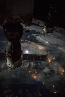 Thunderstorms as seen from the ISS