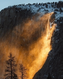Thursday had the most perfect conditions for Firefall Yosemite CA