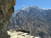 Tiger Leaping Gorge in Yunnan China