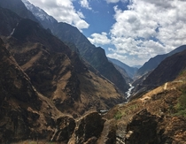 Tiger Leaping Gorge Yunnan China  OC