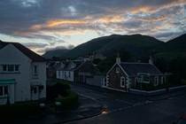 Tillicoultry Scotland on a Friday evening