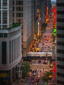 Tilt-shift in Chicago