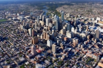 Tilt shift Philly
