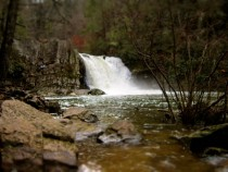 Tilt-Shift waterfall in Gatlinburg TN