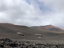 Timanfaya National Park has an amazing landscape Lanzarote Spain