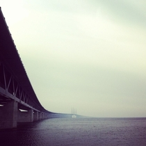 Timehop reminded me that I took this picture two years ago today The resund Bridge