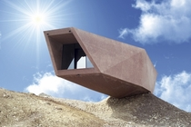 Timmelsjoch Experience Pass Museum by Werner Tscholl  in Austria