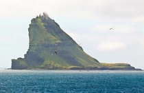 Tindhlmur a small island in the Faroe Islands