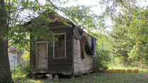 Tiny Louisiana house abandoned Likely built in late s or early s