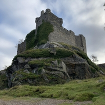 Tioram Castle Scotland  Abandoned since the highland clearances in the s