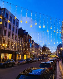 Tis the season in Brussels Belgium