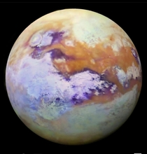 Titan largest moon of Saturn