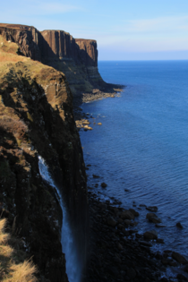 To contribute to recent images from the Isle of Skye Kilt Rock