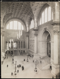To dramatically enhance the quality of life in the New York City metropolitan area by rebuilding the original Pennsylvania Station good idea