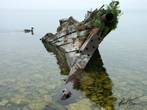 Tobermory shipwreck Photo by Peter Zentjens