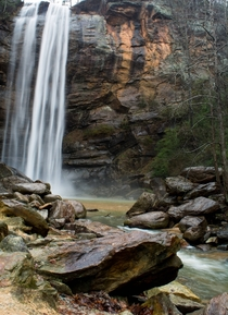 Toccoa Falls in Georgia USA
