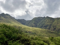 Today I got married in Waianae Hawaii and the mountains here are so beautiful