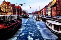 Today in Christianshavn Copenhagen