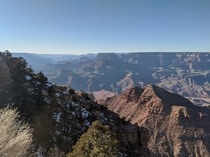Today was my first visit to the Grand Canyon What an incredible place Photographs cannot do this majestic landmark even a hint of justice Ive seen it so many times in images but seeing it with your own eyes just takes your breath away I just needed to sha