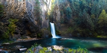 Toketee Falls on the North Umpqua River OR