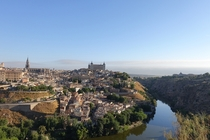 Toledo Spain with an appearance by the Tagus River