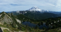 Tolmie Peak Mt Rainier Washington