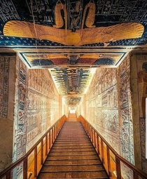 Tomb of Ramesses VI Valley of the Kings Thebes BC Egypt