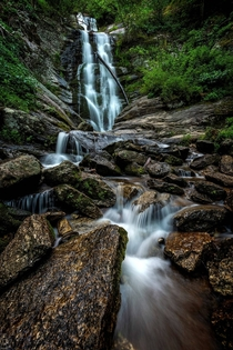 Toms Creek Falls - Marion NC USA
