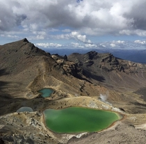 Tongariro Crossing Mt Tongariro New Zealand x