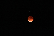 Tonights Blood Moon from Minneapolis Minnesota