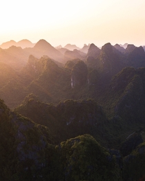 Tonights sunset above Ninh Binh Vietnam   Instagram worldpins