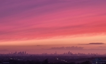 Tonights sunset over London