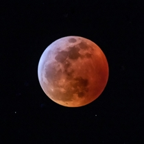 Tonights total lunar eclipse and super blood wolf moon from Denver