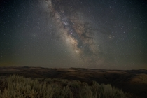 Took a break from Neowise to shoot the milky way in Twin Falls Idaho