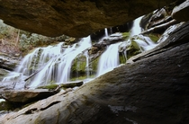Took a break from the numerous Asheville microbreweries and went for a hike to Catawba Falls OC