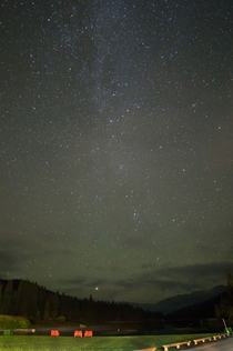 Took this last Tuesday up and Hume Lake in California for an added bonus can you spot the Andromeda Galaxy