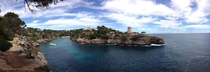 Took this on my iPhone this weekend - Cala Pi Island of Majorca Spain