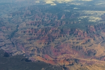 Took this photo when my plane flew over the Grand Canyon