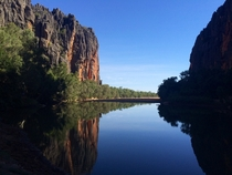 Took this photo with my phone at Windjana Gorge National Park in WA Australia