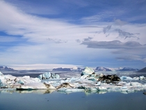 Took this pic on a recent trip to Iceland - Jokulsarlon Glacial Lagoon