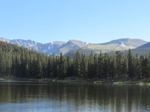 Took this picture on my fishing trip Echo Lake-Colorado
