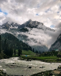 Took this picture while trekking in Pahalgam Kashmir